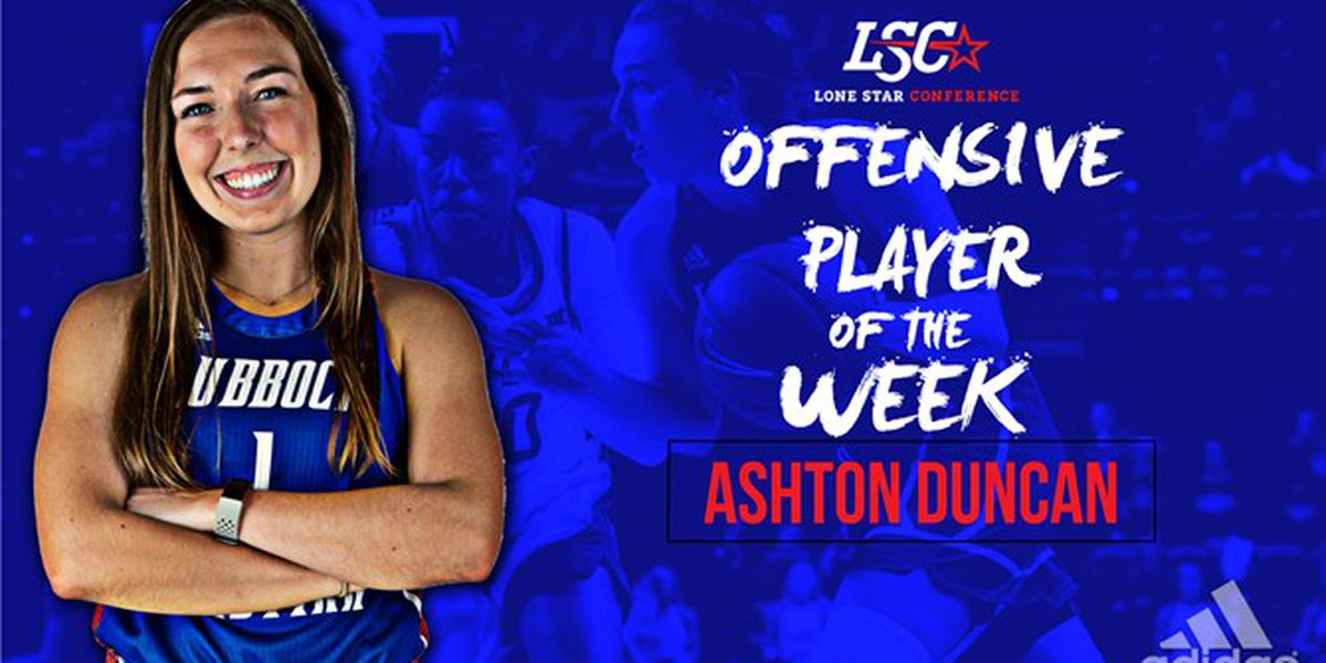 LCU's Ashton Duncan Claims LSC Offensive Player of the Week Honor