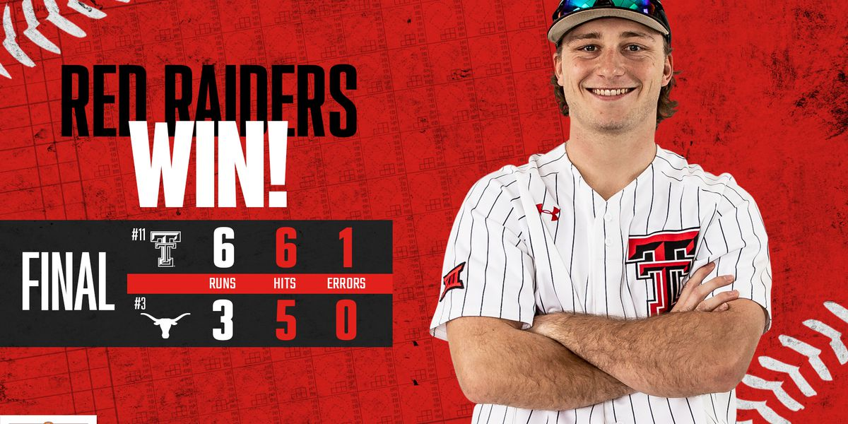 No. 11 Red Raiders take opener from No. 3 Texas