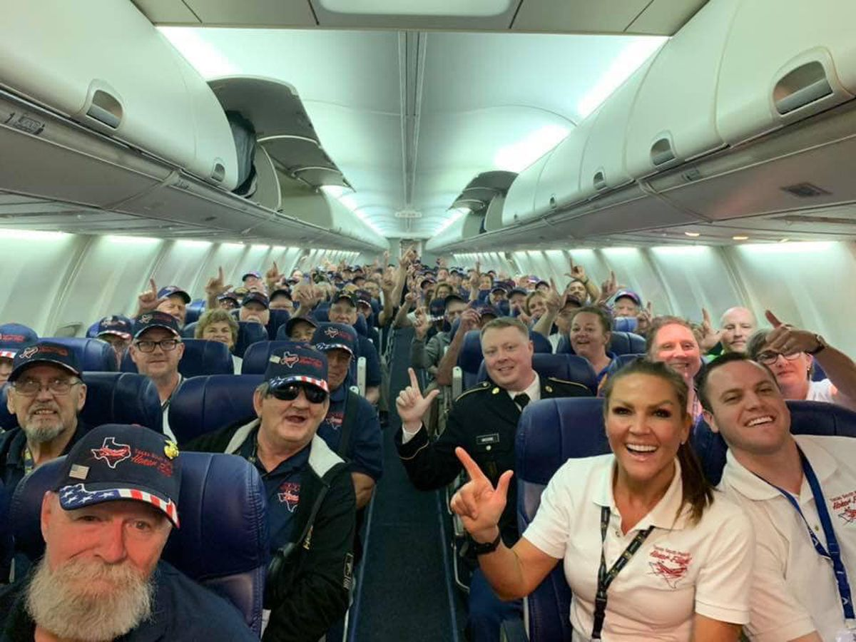 South Plains Honor Flight return delayed, set to return to Lubbock by 10:30 p.m.