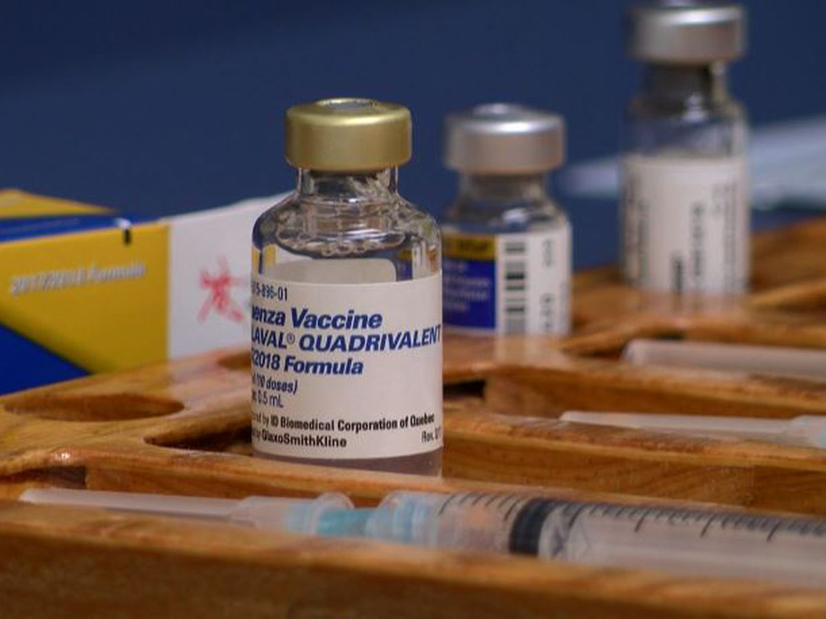 Health officials urge vaccine now as flu cases already reported in Lubbock