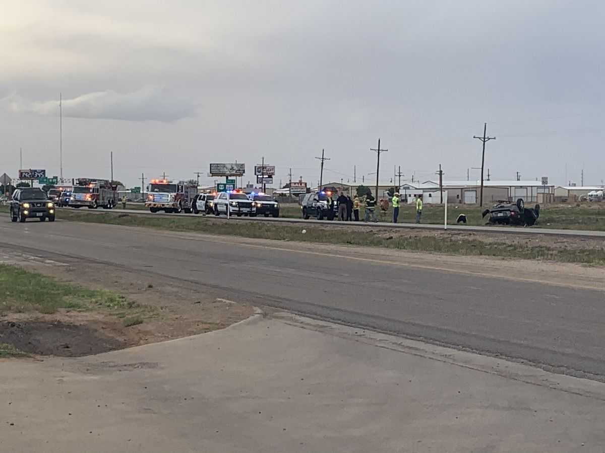 Rollover causes traffic delays on Hwy. 87 near 97th Street