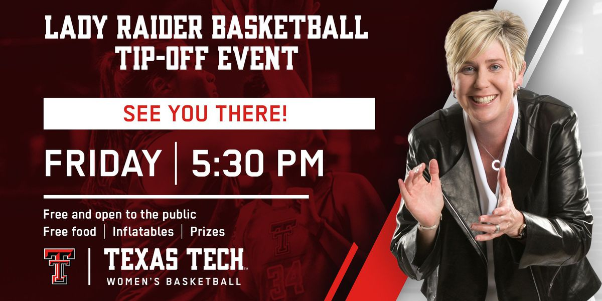 Lady Raiders basketball team to host tip-off event Friday night