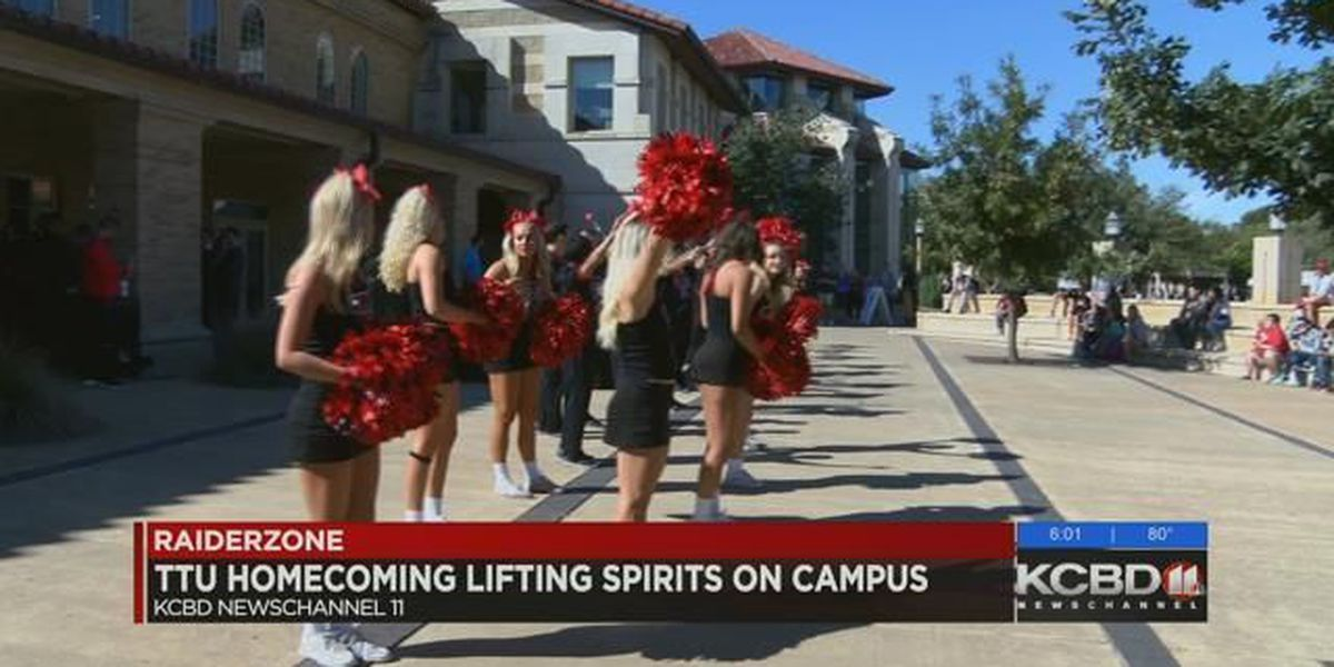 Red Raider spirit high for homecoming following deadly shooting