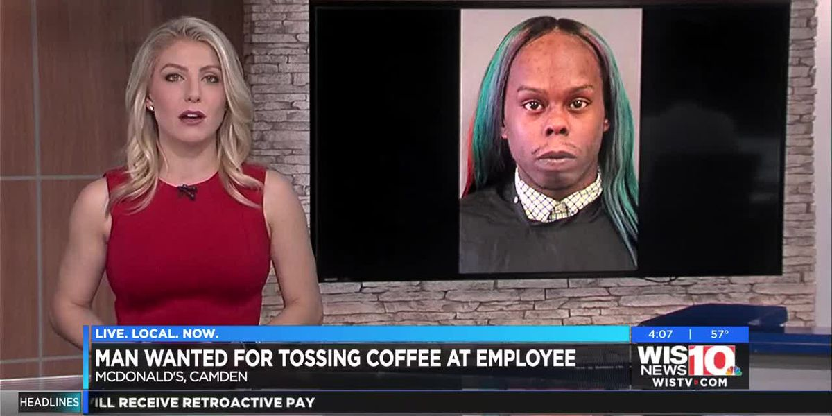 SC man who threw hot coffee at teen McDonald's employee arrested