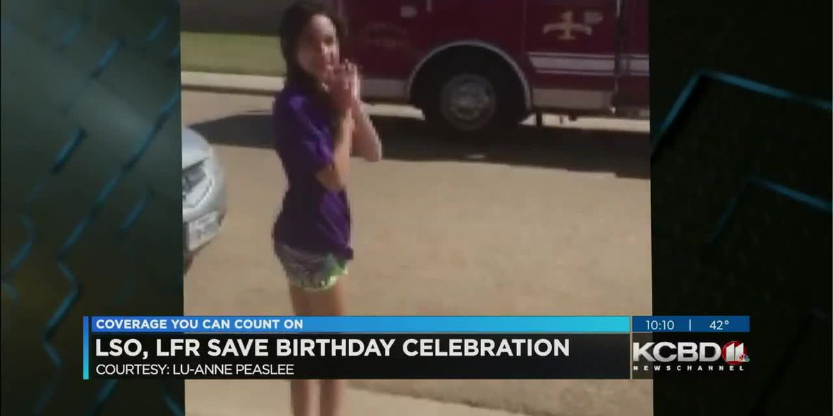 Birthday wishes for Lubbock girl