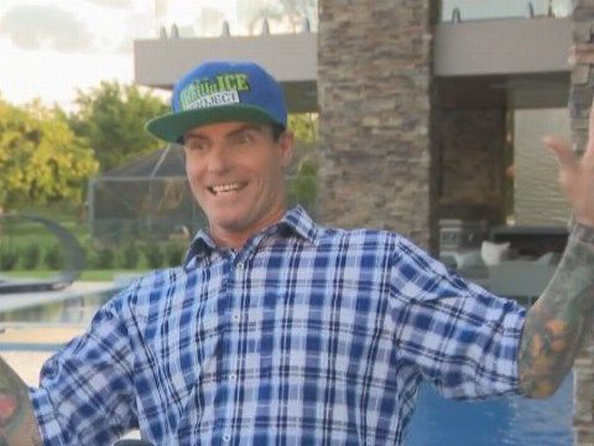 Vanilla Ice to perform at halftime for Red Raiders vs. Iowa State