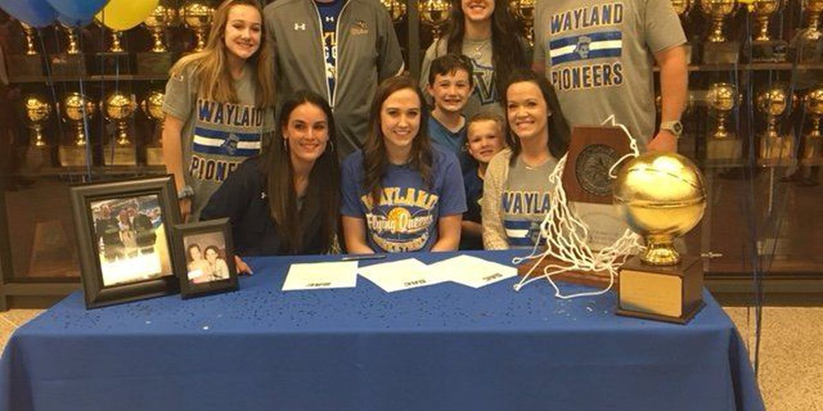 Shallowater's Cailyn Breckel signs with Wayland Baptist
