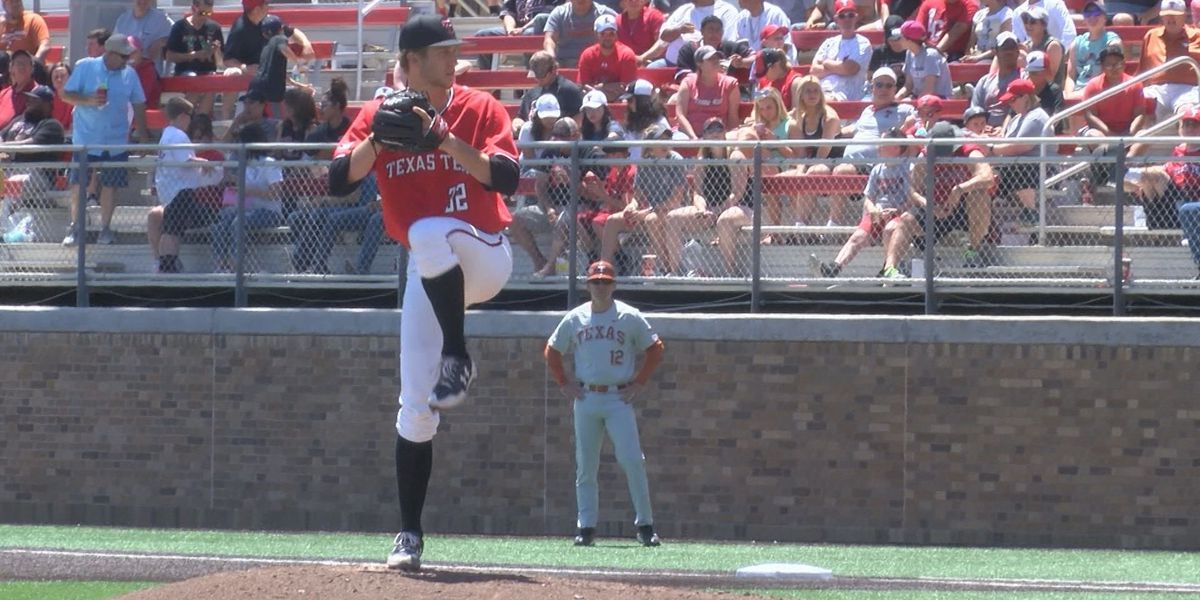 No. 8 Texas Tech evens series with 16-5 win