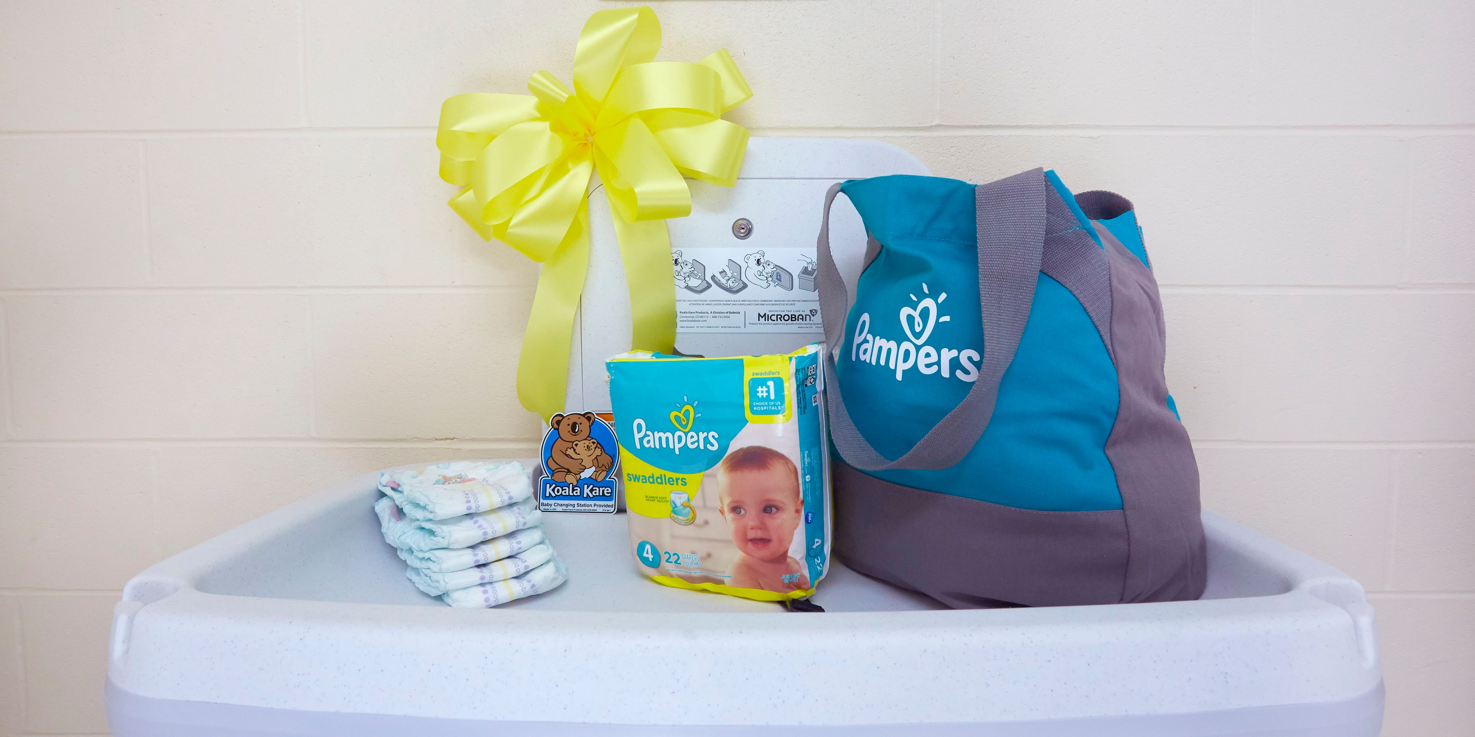 Dads rejoice! Pampers to install 5,000 changing tables in men's restrooms