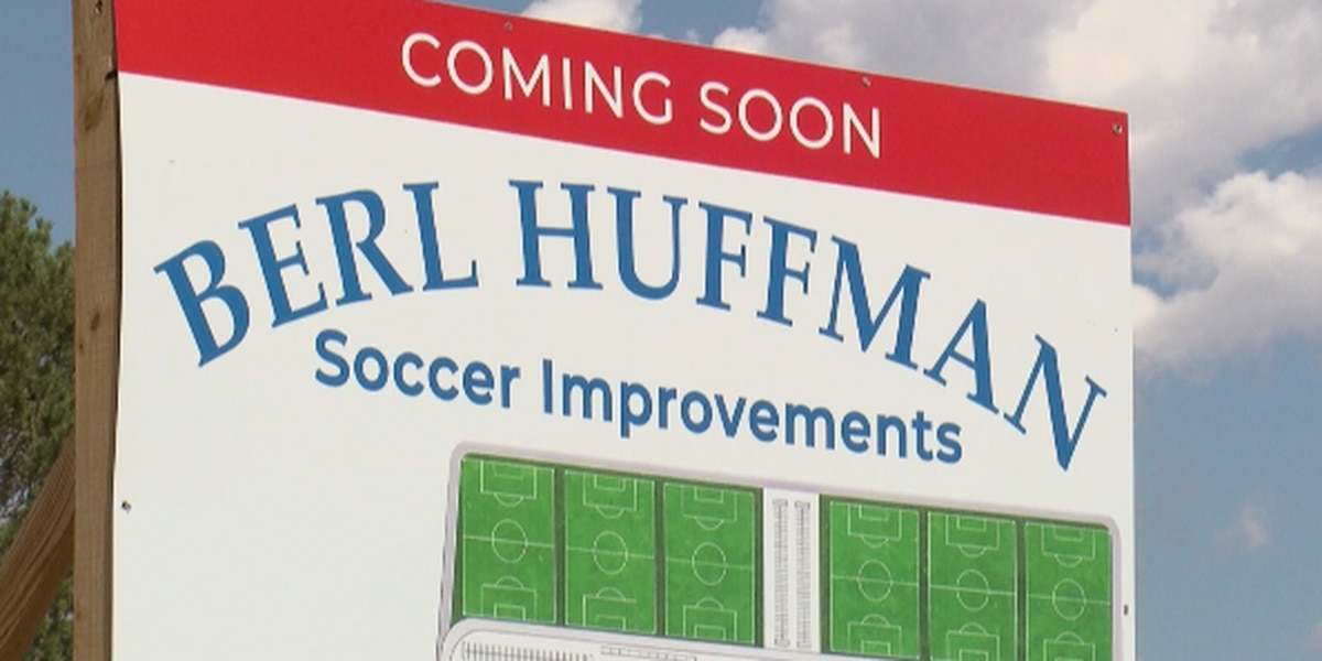 Berl Huffman Athletic Complex renovations well underway in time for fall season
