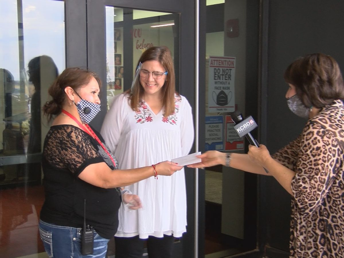 Pay It Forward: Giving back to Lubbock-Cooper East Elementary's lead custodian