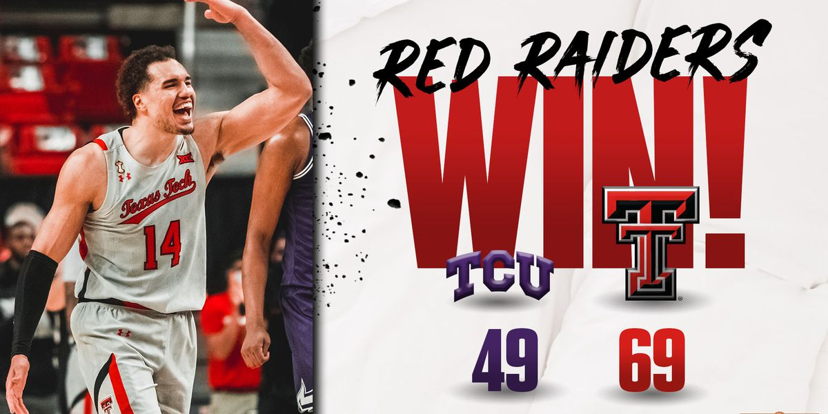 #18 Red Raiders get win over TCU, 69-49