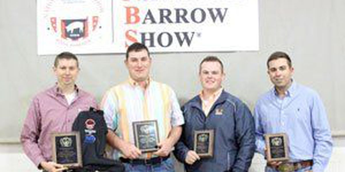 Tech livestock, meat judging take second at National Barrow Show