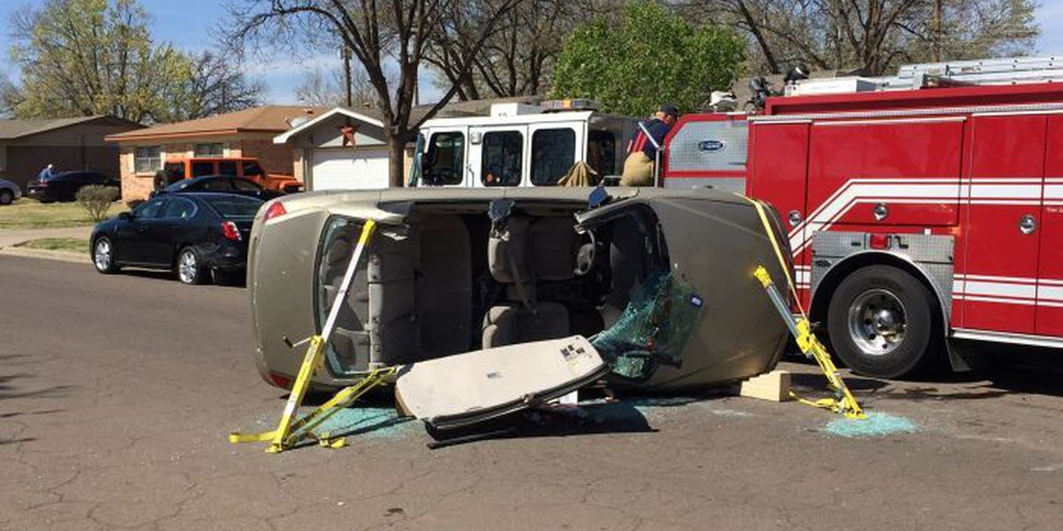 One injured in rollover at 27th & Quaker