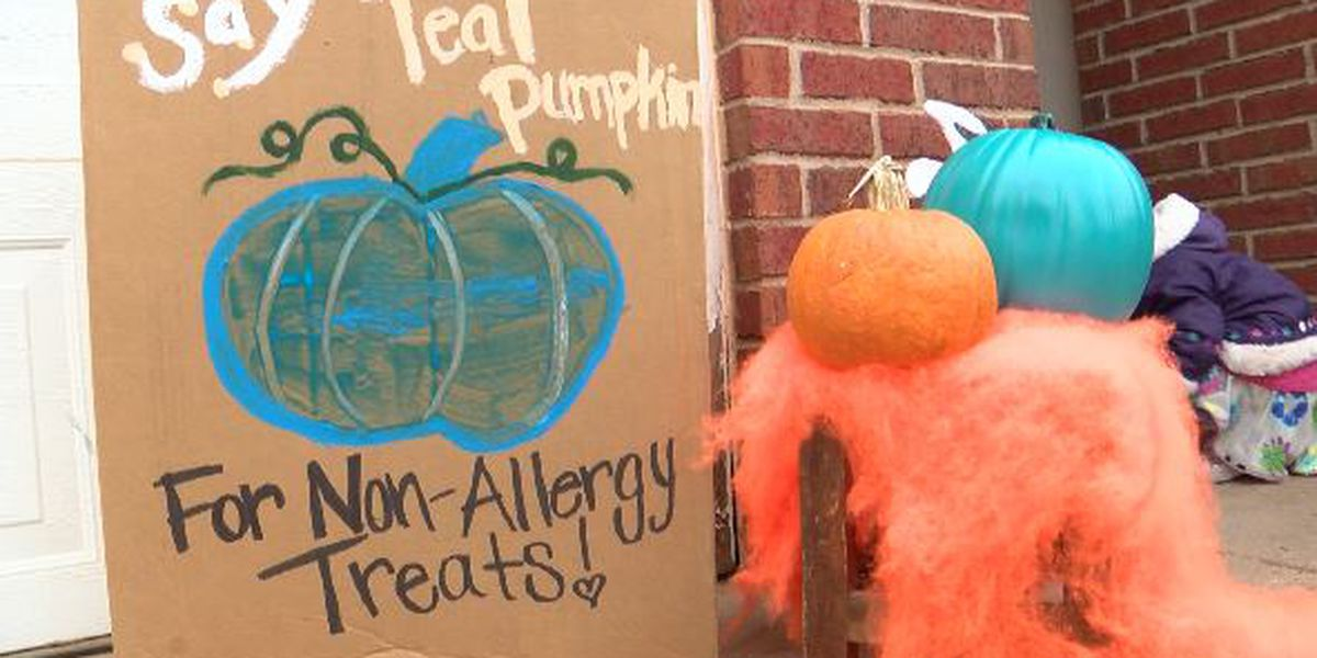 Two Lubbock families want people to know about the Teal Pumpkin Project before Halloween