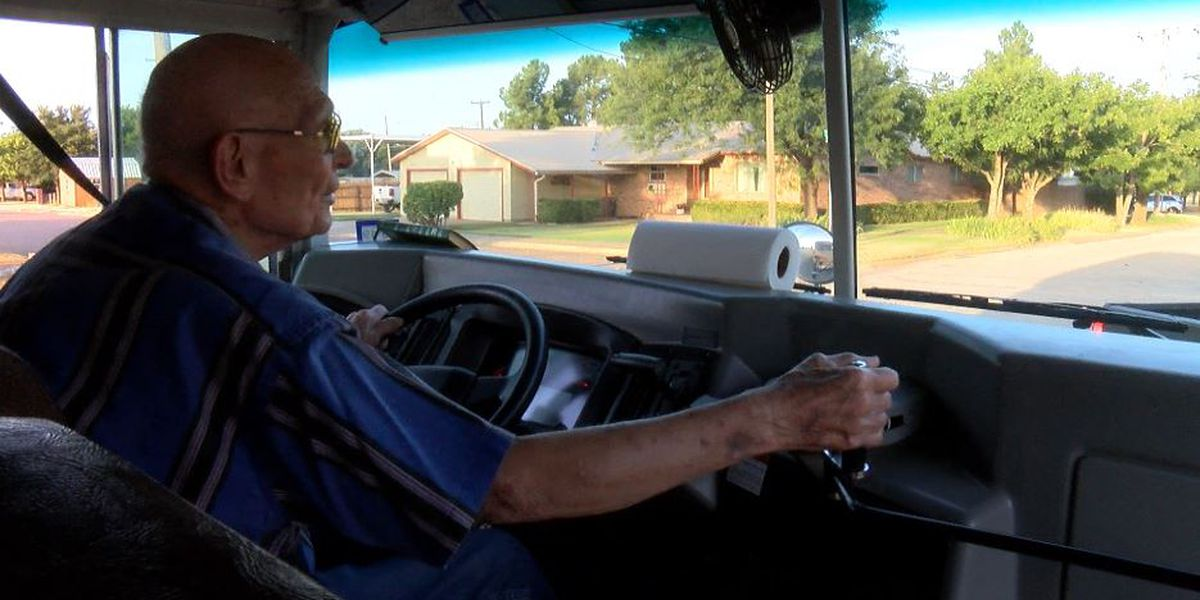 85-year-old Crosbyton CISD bus driver begins 18th year after cancer fight
