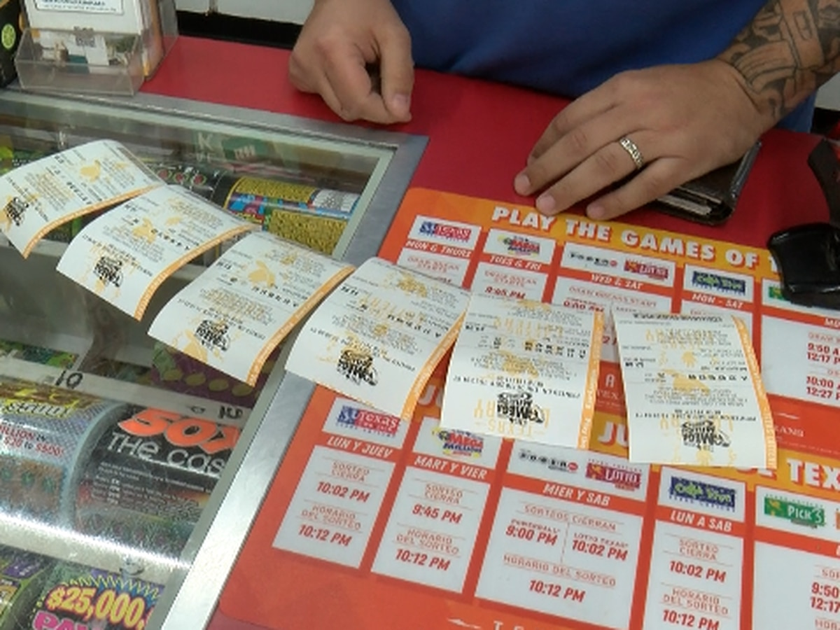 Loyal customers buy lottery tickets for convenience store manager
