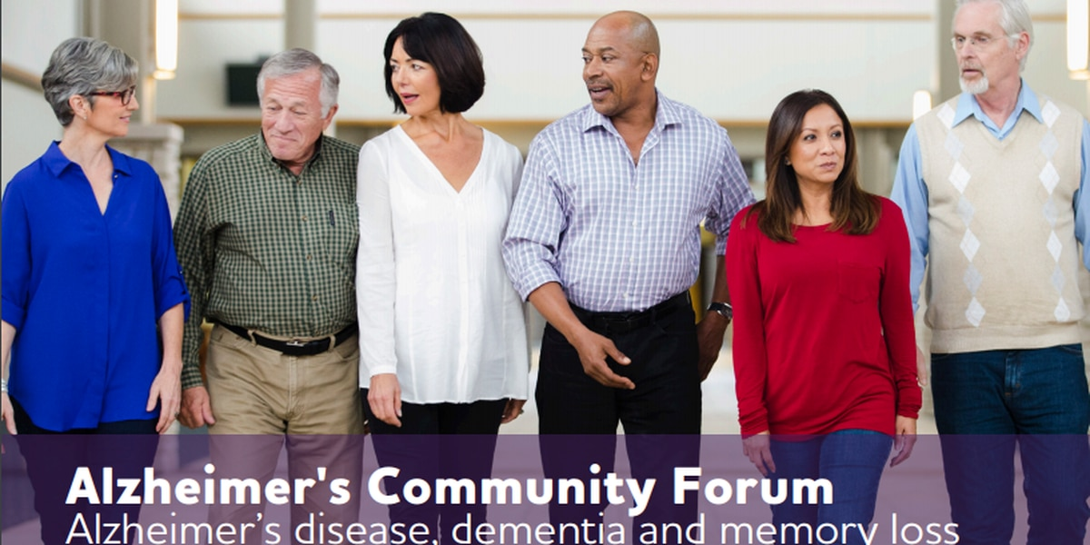 Alzheimer's Association to host March community forum