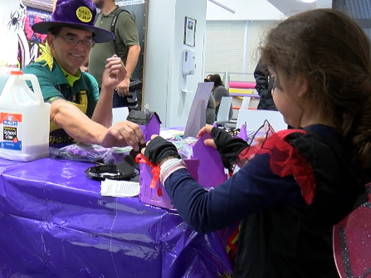 Covenant pediatric patients celebrate Halloween early.