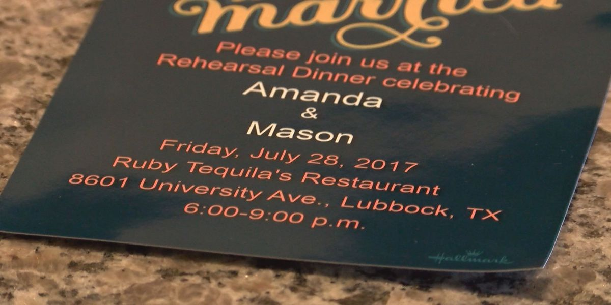 Couple Planned Rehearsal Dinner For Ruby Tequila S And Had