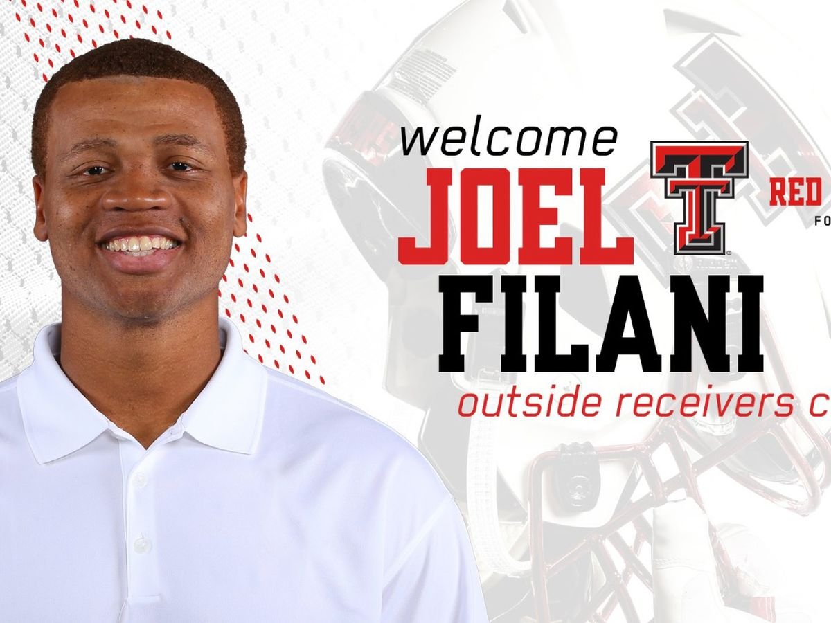 Joel Filani set to return to the Red Raiders as Outside Receivers coach