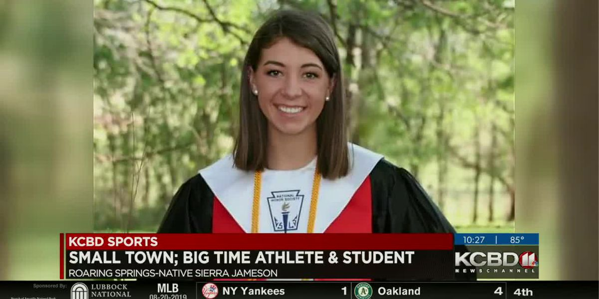 KCBD Newschannel 11 at 10 small town athlete 8/20/2019