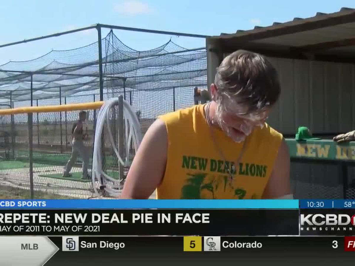 RePete: New Deal Baseball Pie in the Face