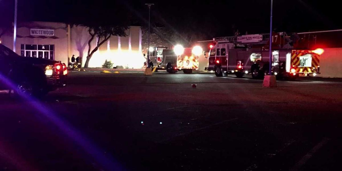 Fire at Mr. Tom's Salon and Day Spa