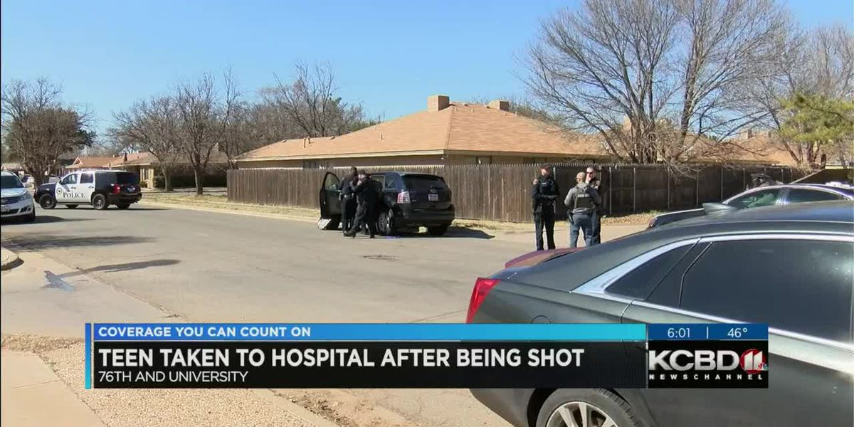 Lubbock teens involved in Wednesday shooting - 6 p.m.