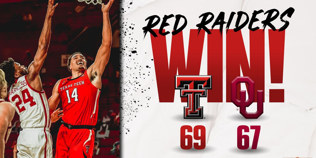 #15 Red Raiders pick up Big 12 win in Oklahoma