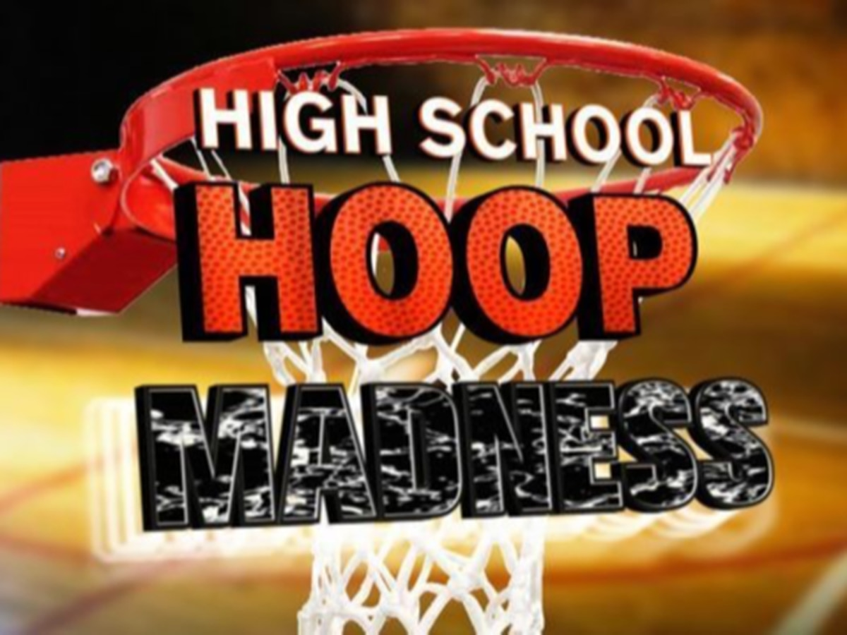 Hoop Madness State Tournament, Boys Regional Final scores for Saturday
