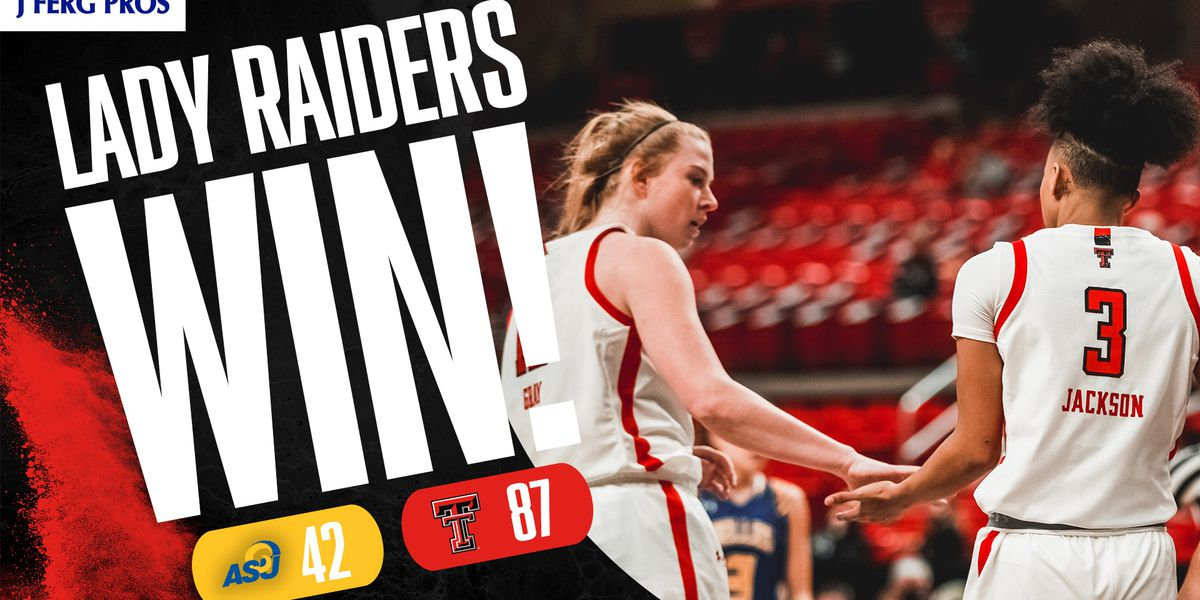 Lady Raiders get back to winning, top Angelo State