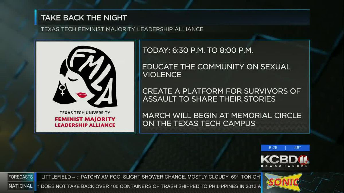 Tech's Feminist Majority Leadership Alliance to host Take Back the Night event