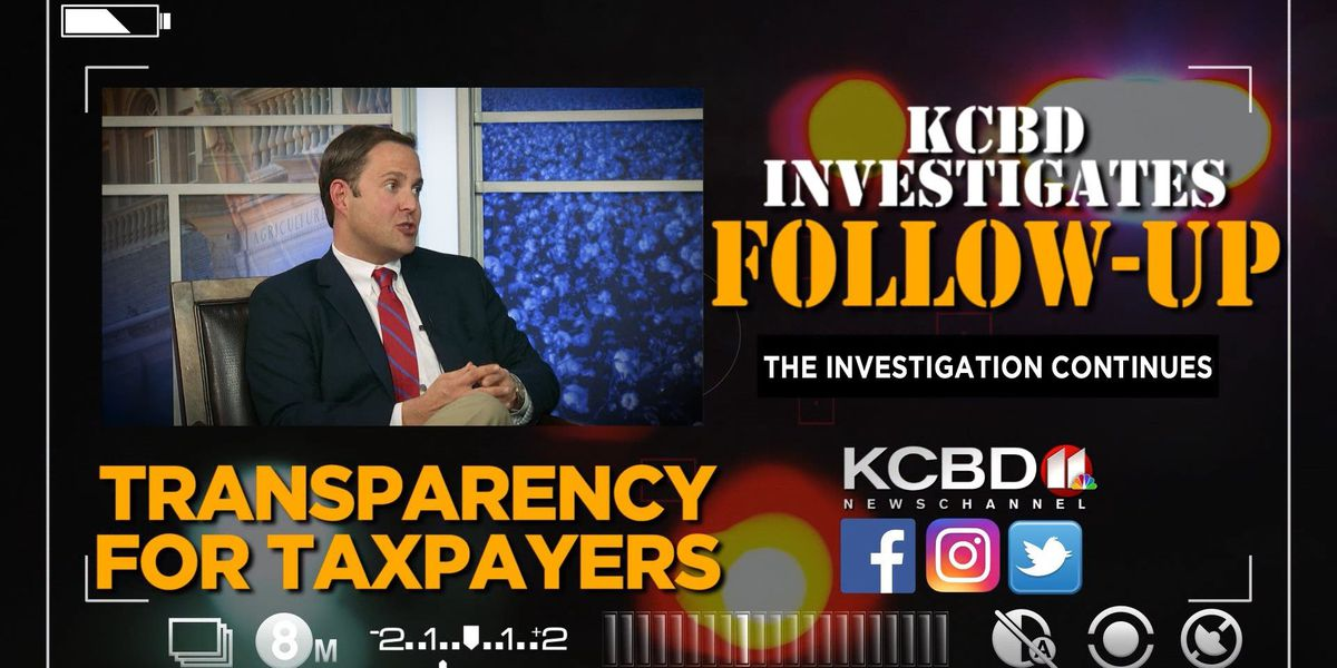 KCBD INVESTIGATES: Representative Dustin Burrows reacts to police body cam laws