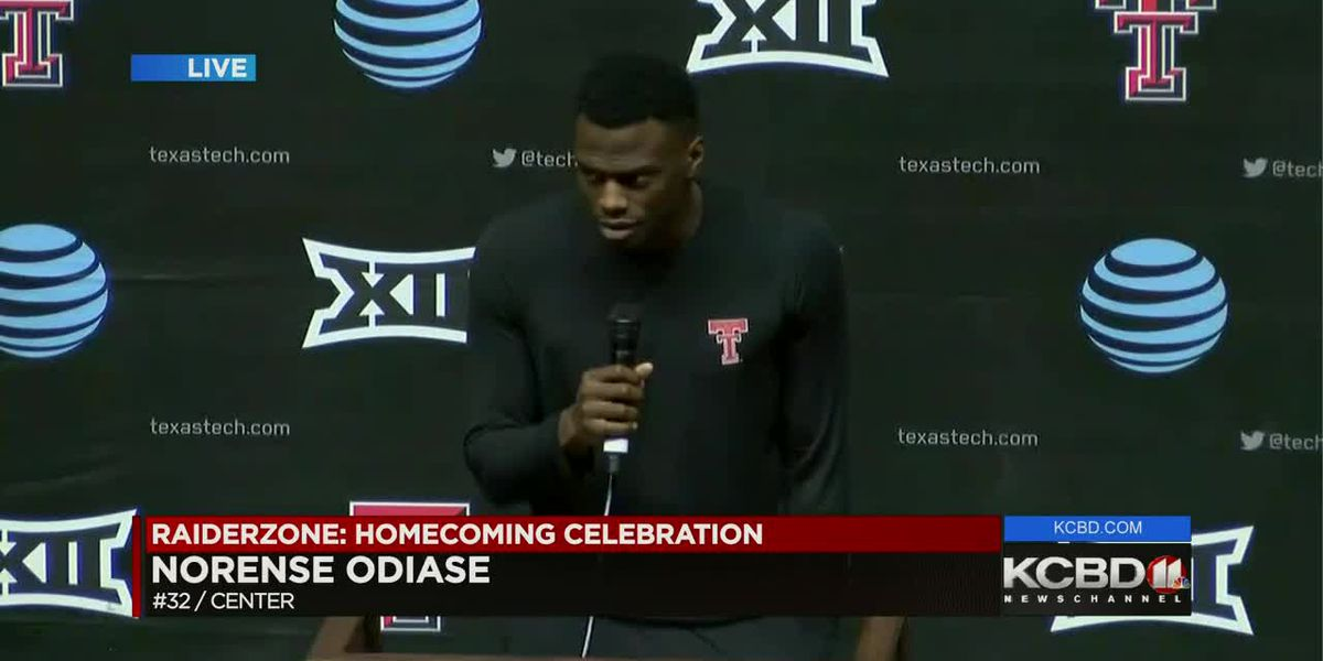 Welcome home celebration - Senior Norense Odiase