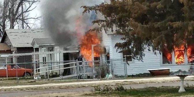 Lockney house destroyed following fight between mother, daughter
