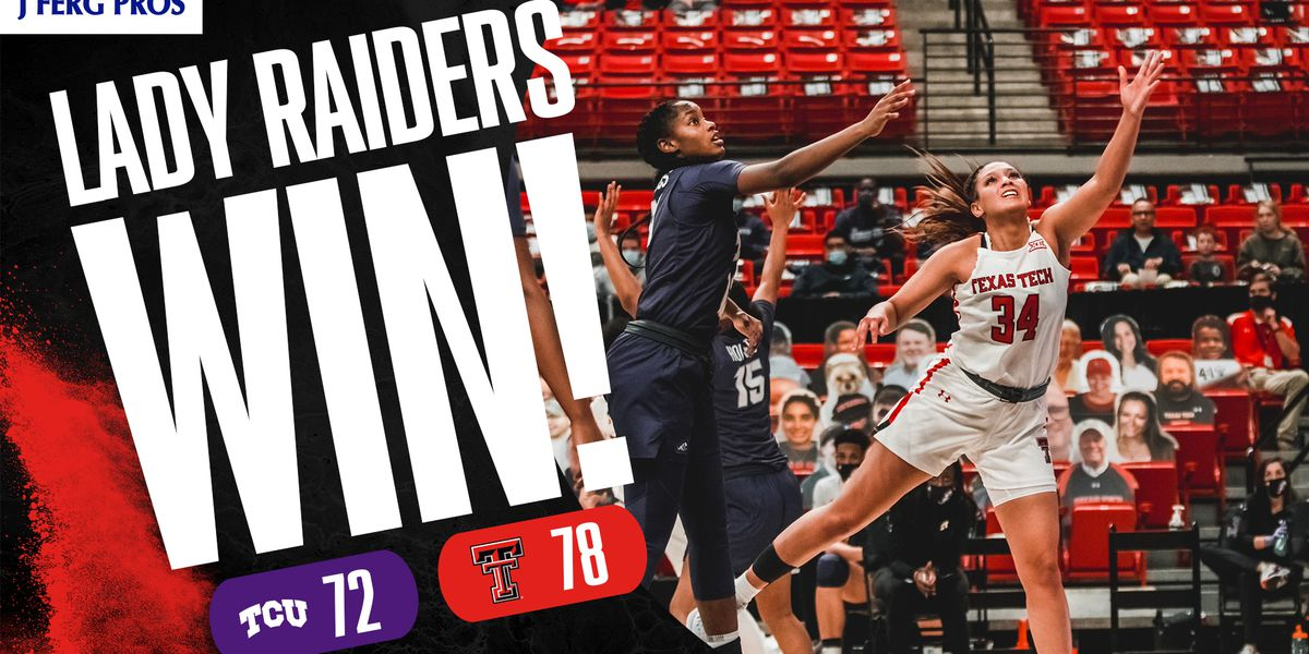 Lady Raiders come back from 16 to beat TCU