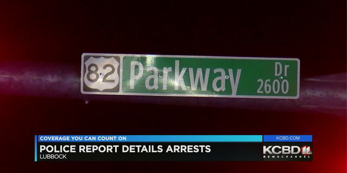 KCBD Newschannel 11 at 10 Police report details arrests