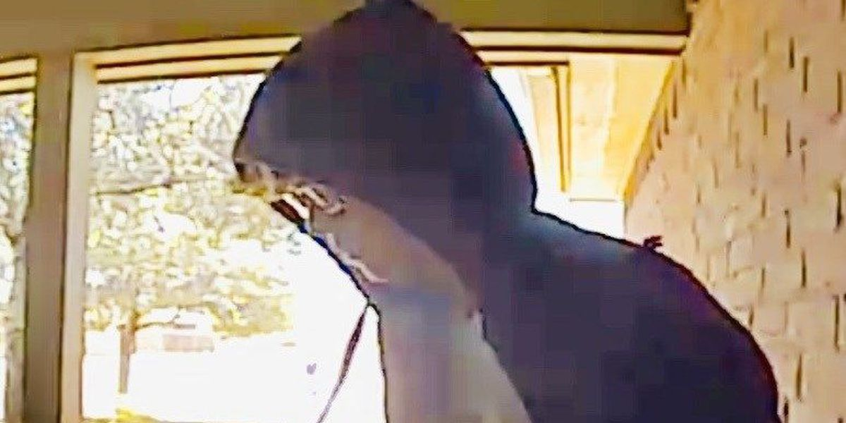 Southeast Lubbock family catches porch theft on doorbell camera