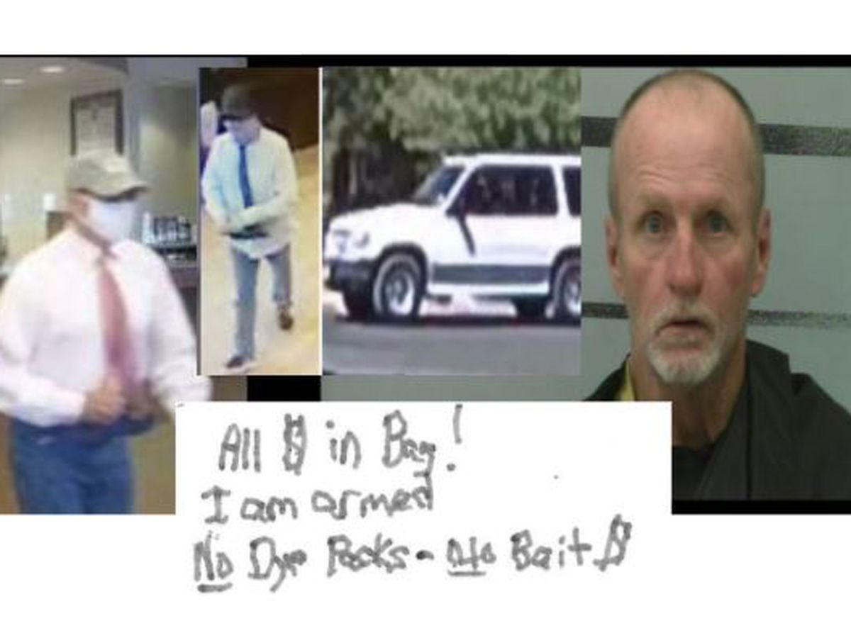 Midland man tied to bank robberies in Lubbock, Odessa, Abilene