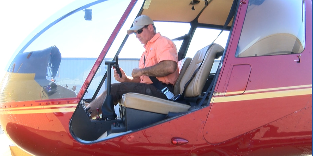 Pilot uses personal helicopter to find missing child