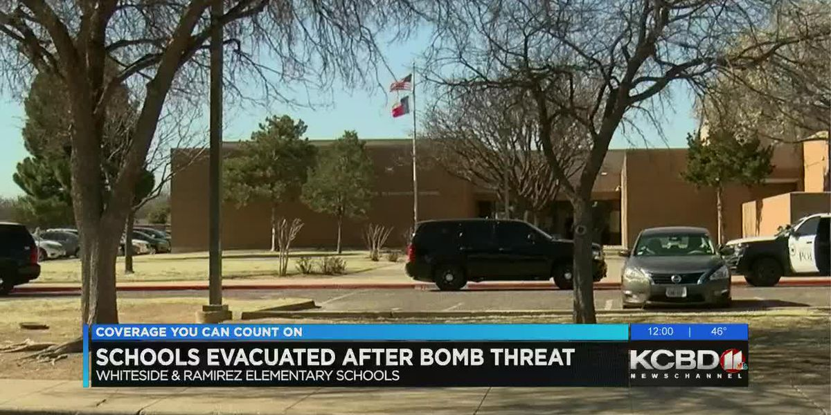Whiteside, Ramirez elementary schools evacuated after bomb threat; ruled as hoax