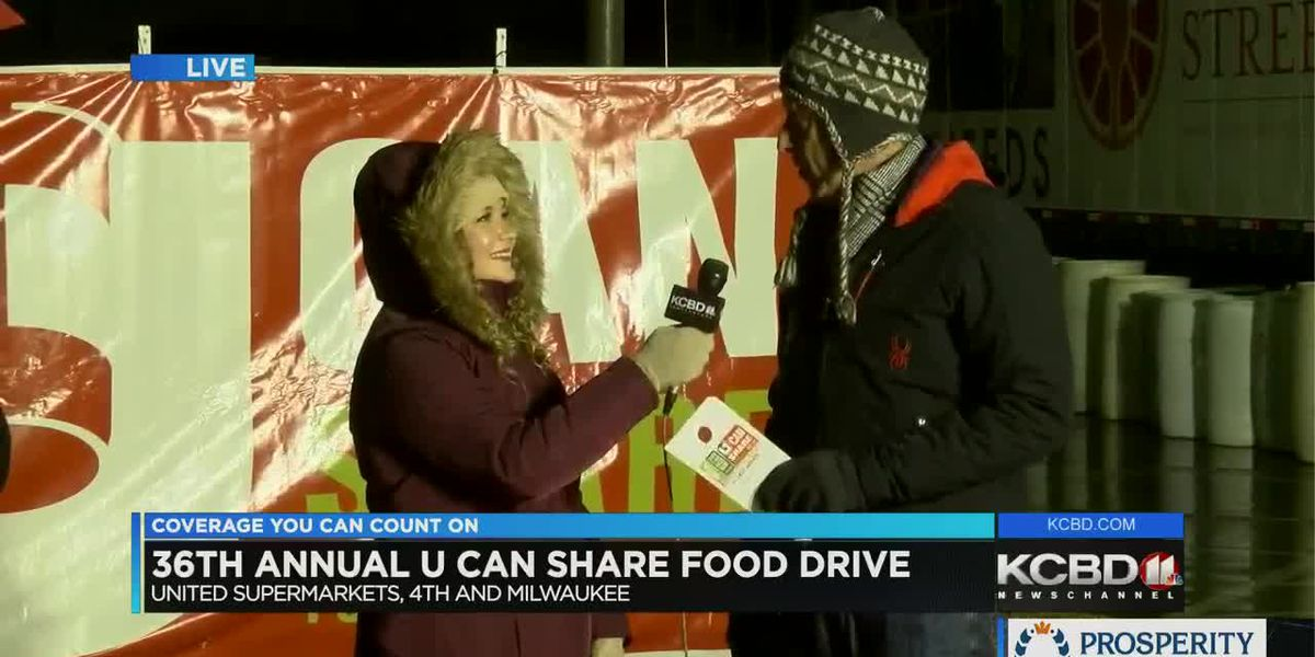 U Can Share Food Drive: Day 5 - 10 p.m.