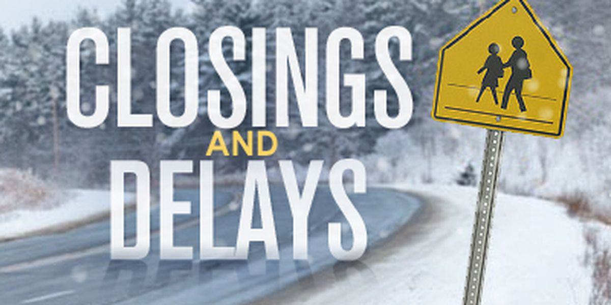 Severe Weather: Delays and closings for Wednesday, October 28