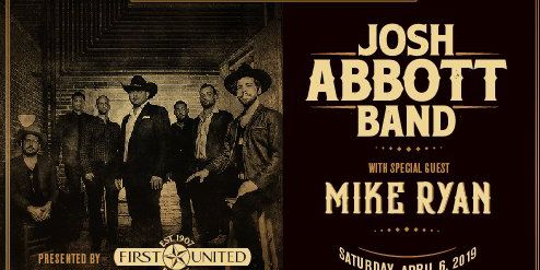 Josh Abbott performing Apr. 6 to benefit Lubbock Cooper Foundation