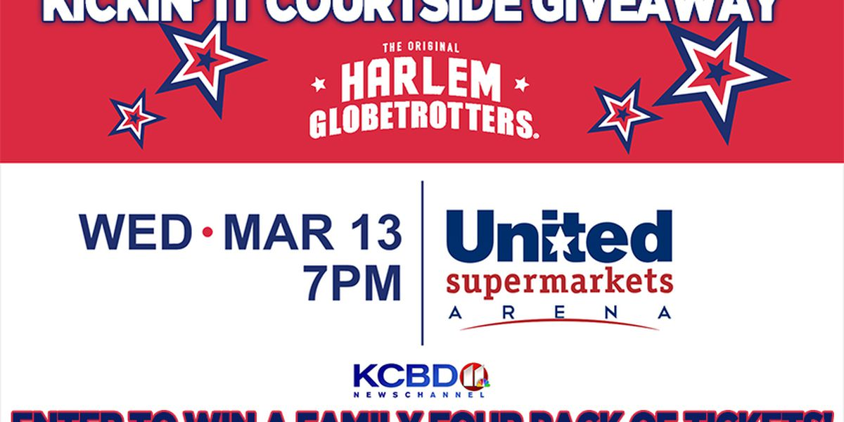 Harlem Globetrotters Kick It Courtside Giveaway
