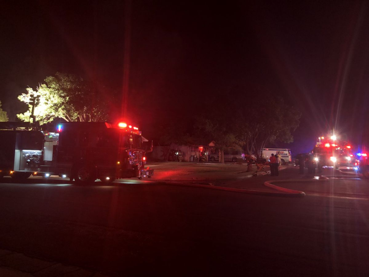 Fire reported Tuesday morning in Northwest Lubbock
