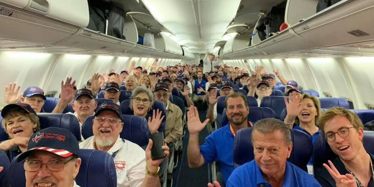 Texas South Plains Honor Flight veterans begin Day 1 in DC
