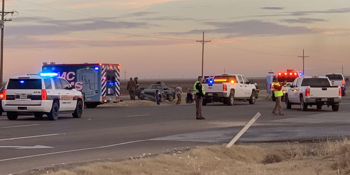 Crews working multi-car crash along Highway 87 at 194th Street