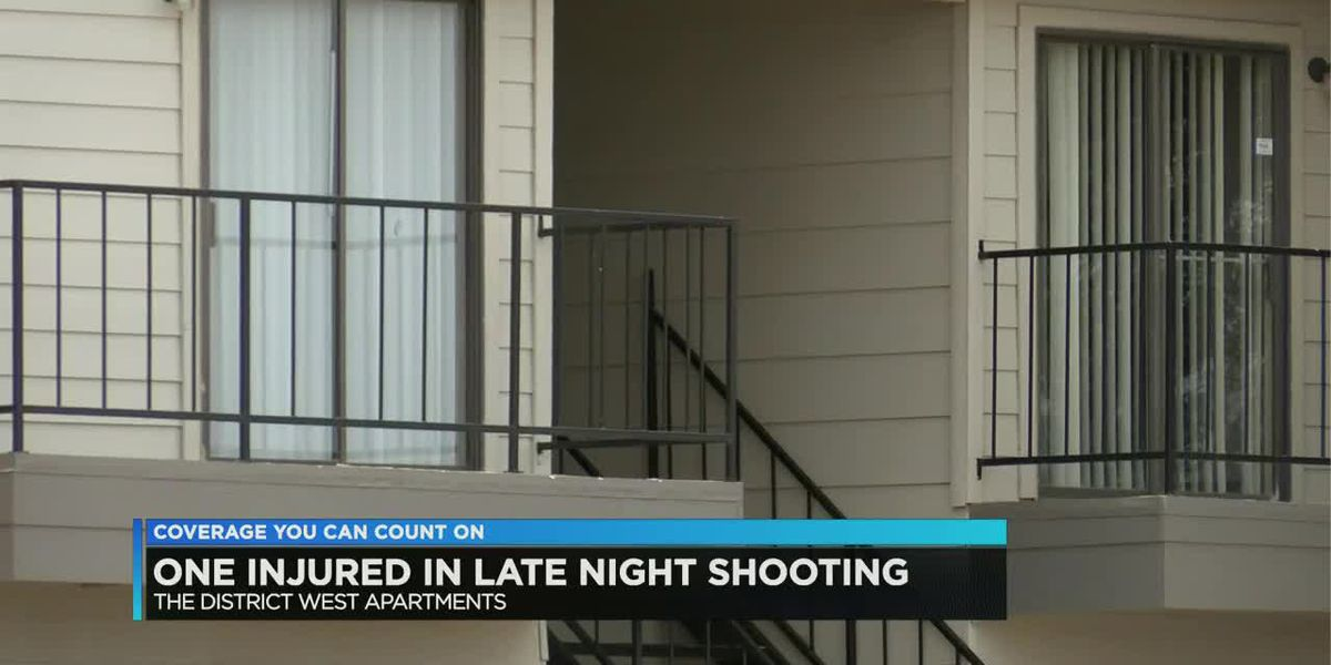 One injured in late night shooting